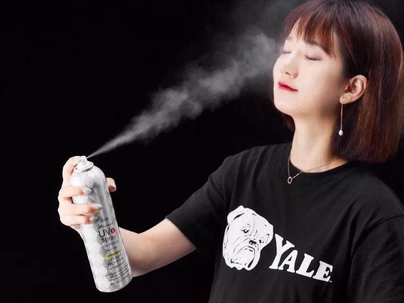 日本超火的防晒喷雾,透明速干,脸上、头发都能喷
