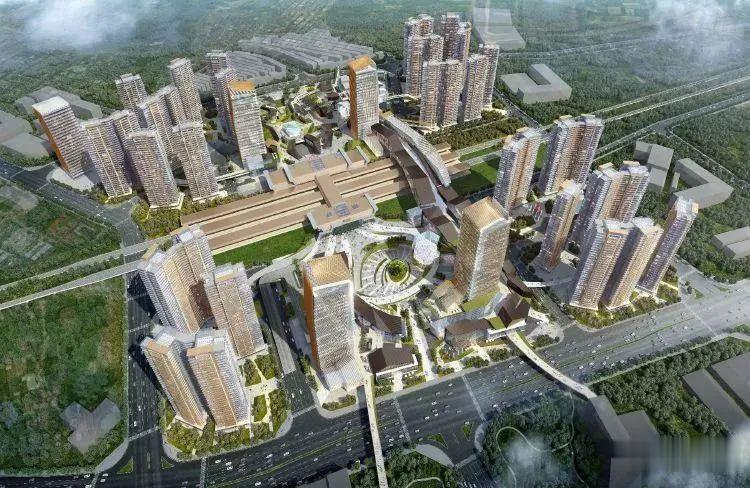 深圳市城市更新网@豪掷32亿!龙湖金地联手, 东莞火车站TOD综合体