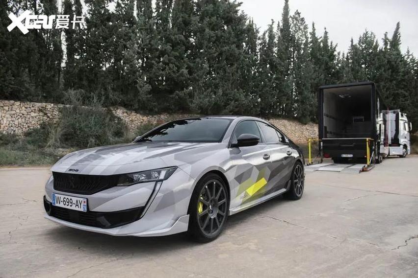 電子四驅系統加持! 標致最速車型誕生, 顏值還挺高-圖7