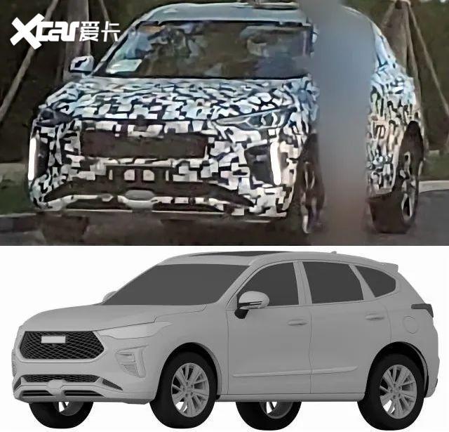 看個新車丨外觀、內飾設計全曝光, 哈弗全新SUV或將接替H2-圖3