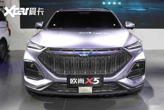 長安打造首款運動SUV, 歐尚X5外形個性張揚-圖2