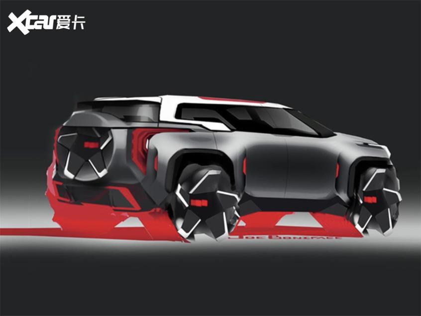 通用全新SUV設計草圖曝光 未來感十足-圖2