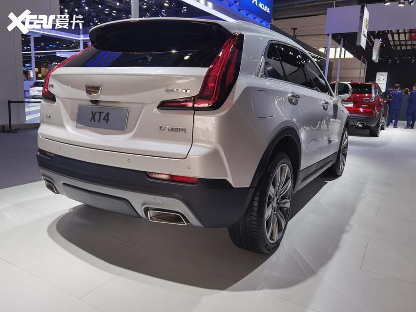 2020國際車展, 新款凱迪拉克XT4實拍, 運動SUV新寵兒。-圖2