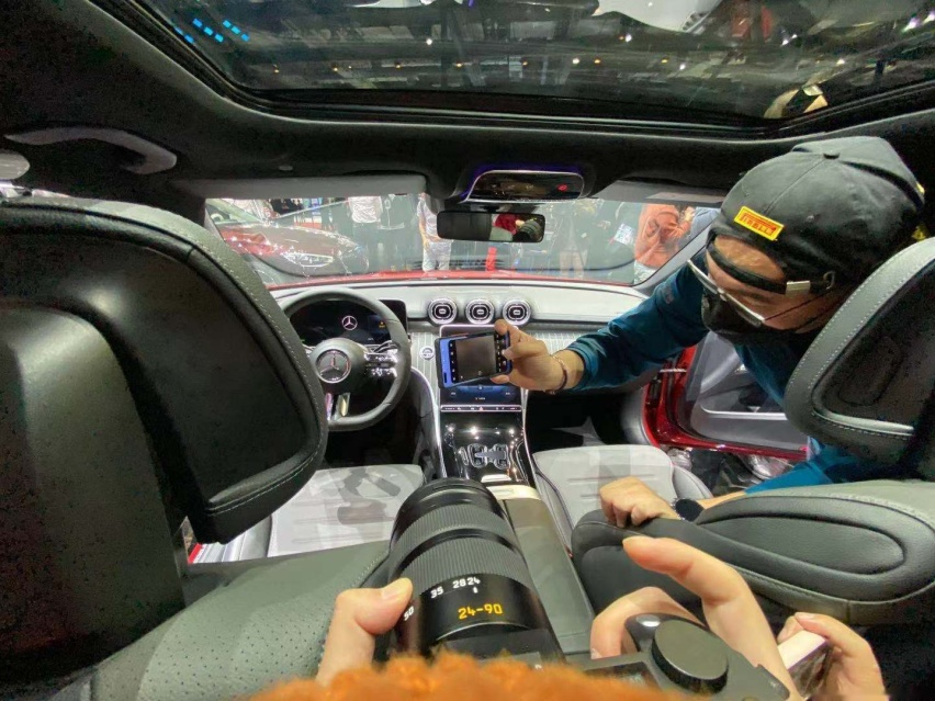 2021上海車展: 全新奔馳C級實車亮相/配得上小S的稱號-圖9