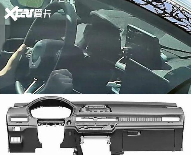 看個新車丨新一代思域全面曝光, 廣本將推兄弟版車型-圖7
