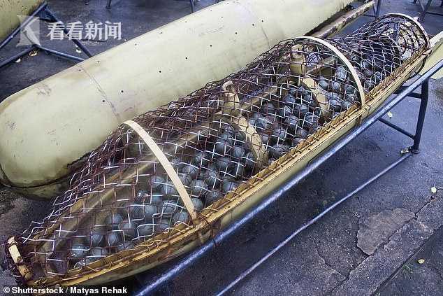 納卡地區首府大街上驚現國際禁用集束炸彈 系阿塞拜疆炮擊中使用-圖3