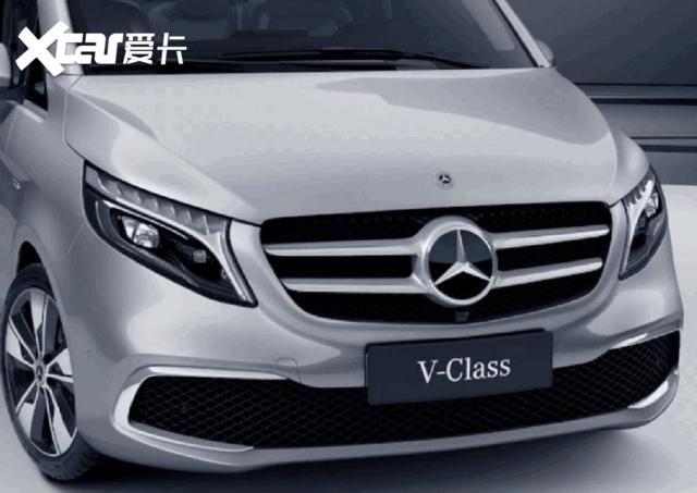 豪華MPV圓桌的全新座上客, 北京車展奔馳V260煥新而至-圖3
