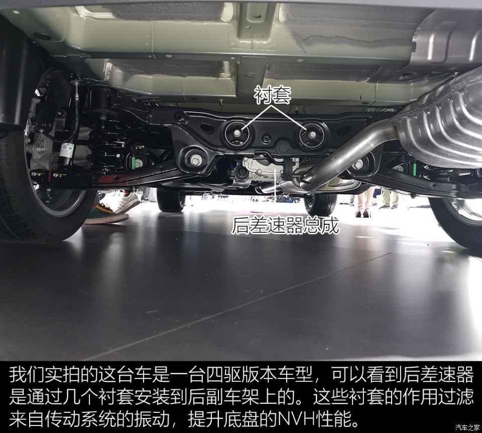 進口大七座SUV 現代帕裡斯帝底盤解析-圖7