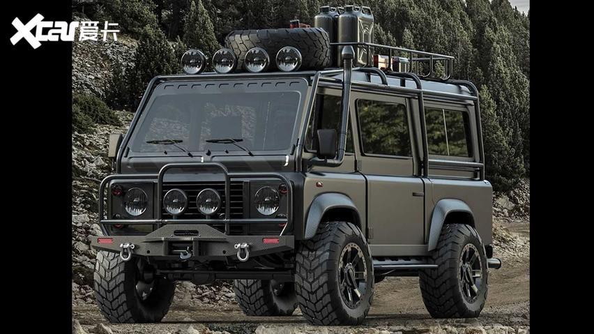 路虎衛士即將發佈MPV車型 或將命名VanRover-圖3