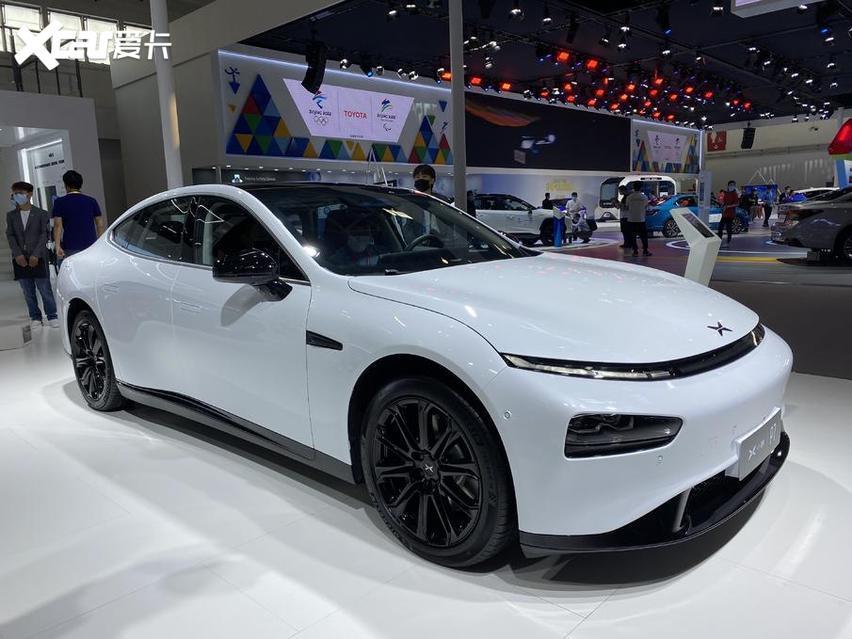 北京車展 實拍小鵬P7 新勢力很強悍 價格才20萬出頭-圖2