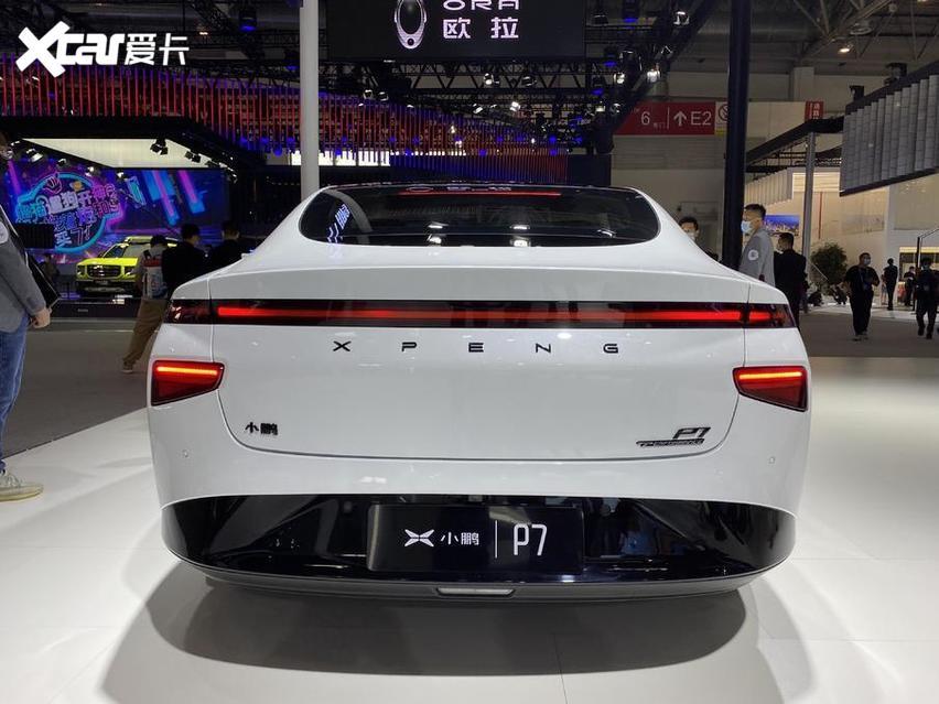 北京車展 實拍小鵬P7 新勢力很強悍 價格才20萬出頭-圖7