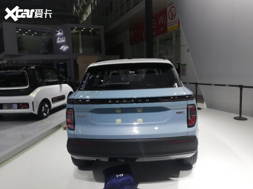 人見人愛的小型SUV, 新寶駿RS-3亮相北京車展-圖3