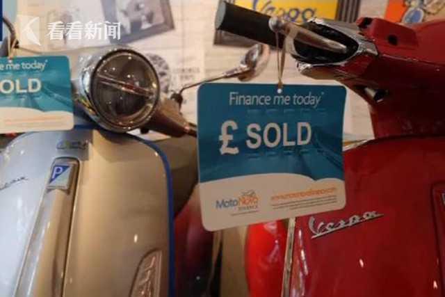 新冠疫情改變生活 倫敦小型摩托車銷量創紀錄-圖2