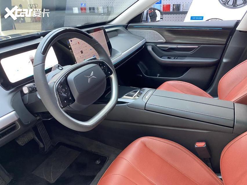 北京車展 實拍小鵬P7 新勢力很強悍 價格才20萬出頭-圖9