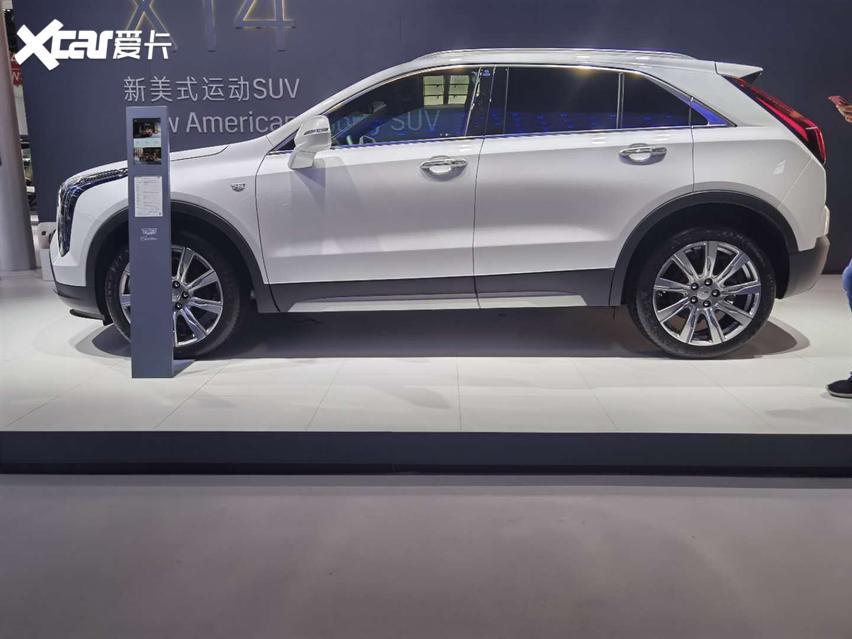 2020國際車展, 新款凱迪拉克XT4實拍, 運動SUV新寵兒。-圖3