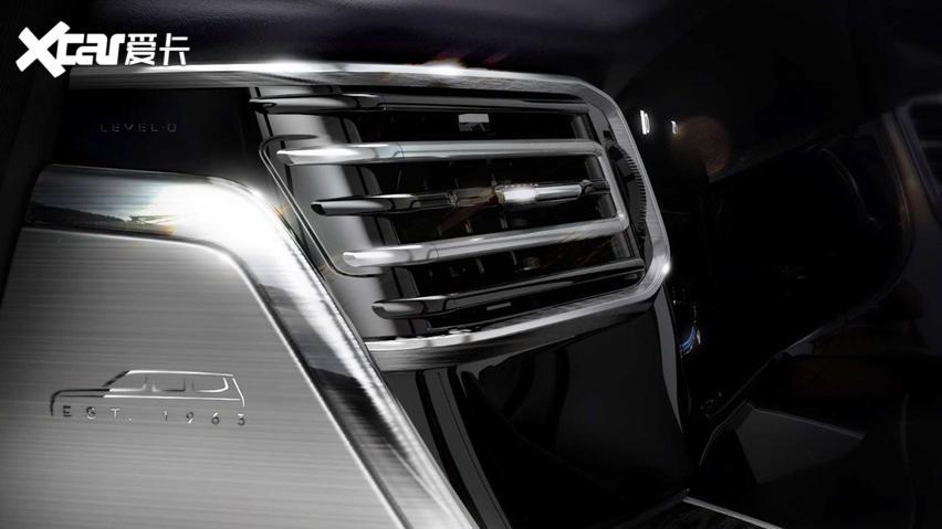 Jeep發佈全新SUV Grand Wagoneer預告圖-圖5