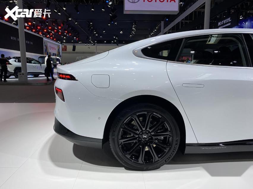 北京車展 實拍小鵬P7 新勢力很強悍 價格才20萬出頭-圖6