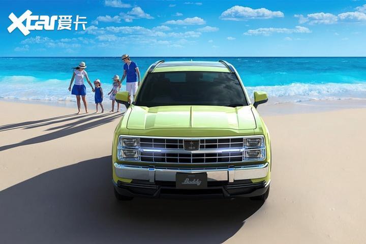豐田RAV4美式復古造型, 光岡Buddy即將接受預定-圖2