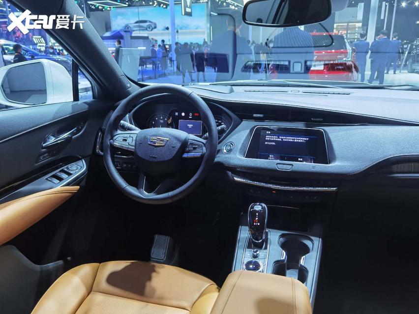 2020國際車展, 新款凱迪拉克XT4實拍, 運動SUV新寵兒。-圖6