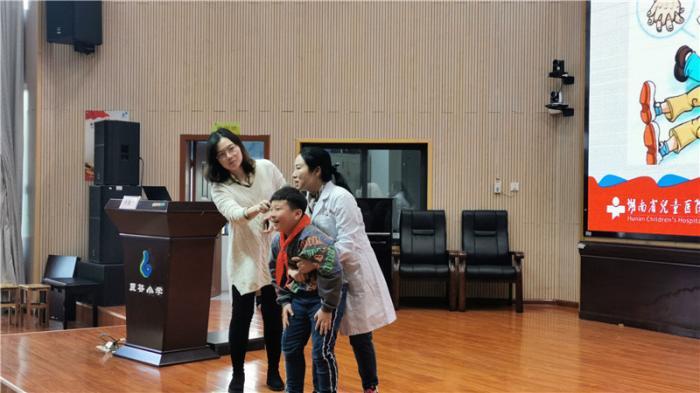 湖南省预防儿童意外伤害知识百场公益讲