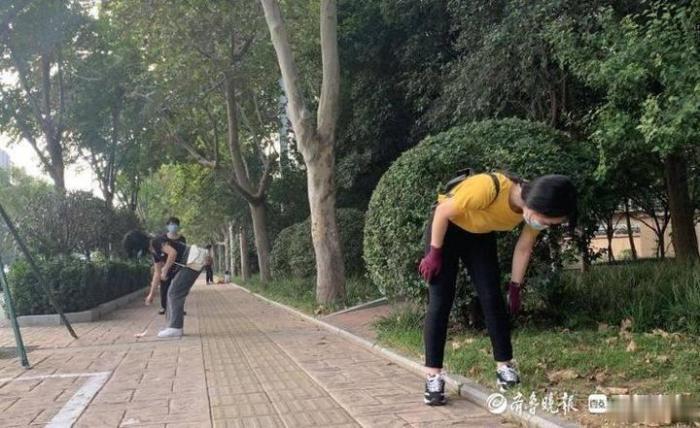清洁街道美化城市, 济南大学大学生志愿