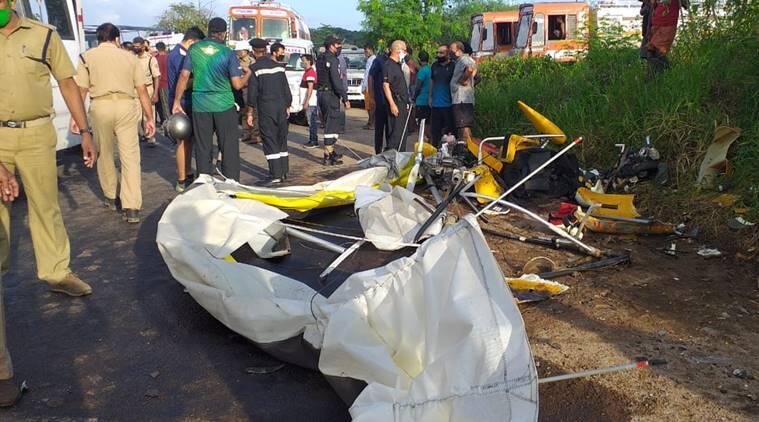 快訊! 印度海軍一滑翔機墜毀, 兩名海軍軍官死亡-圖2