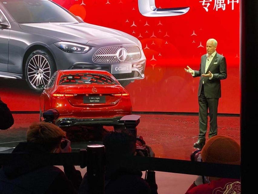 2021上海車展: 全新奔馳C級實車亮相/配得上小S的稱號-圖7