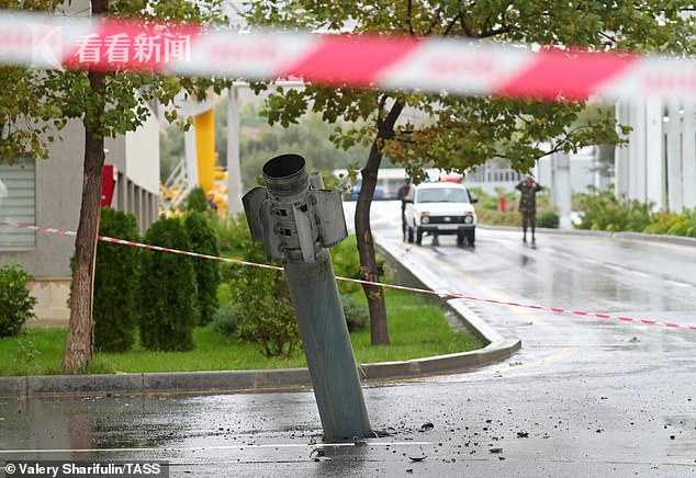 納卡地區首府大街上驚現國際禁用集束炸彈 系阿塞拜疆炮擊中使用-圖6