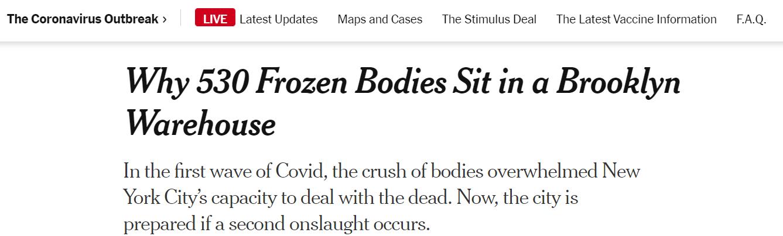 """美國今年死亡人口或首超新出生人口 美醫生哀嘆""""至暗時刻""""已經到來-圖5"""