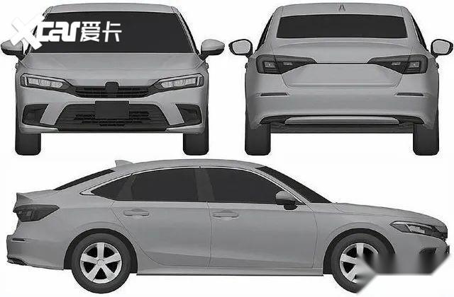 看個新車丨新一代思域全面曝光, 廣本將推兄弟版車型-圖4