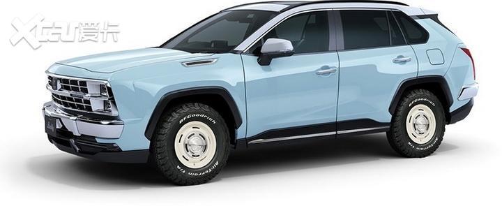 豐田RAV4美式復古造型, 光岡Buddy即將接受預定-圖4