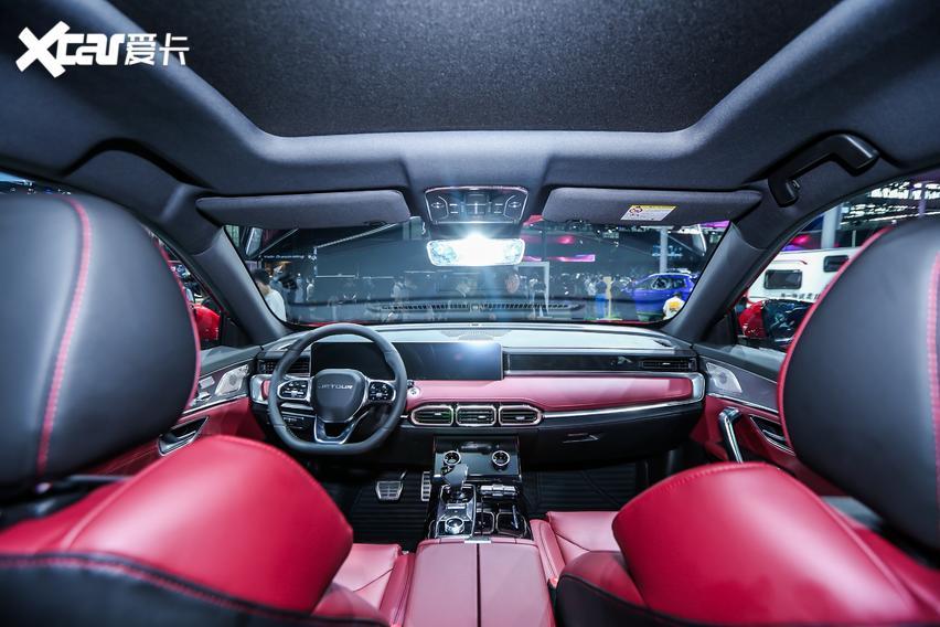 10萬內預算可以看看! 捷途X70 Plus車亮相北京車展-圖3