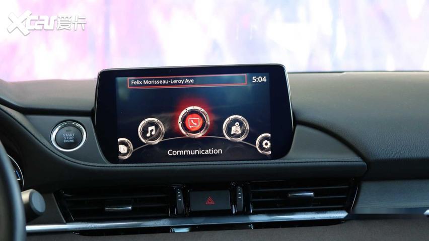 馬自達新款阿特茲於9月下旬發佈 部分配置升級/搭2.5T引擎-圖3