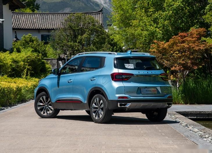 新款奇瑞瑞虎5x將今年第二季度上市 定位小型SUV-圖2