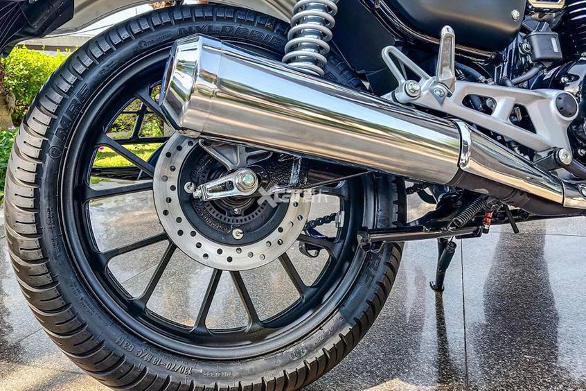 本田發佈復古摩托CB350 售價不足2萬元-圖8