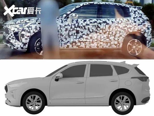 看個新車丨外觀、內飾設計全曝光, 哈弗全新SUV或將接替H2-圖4
