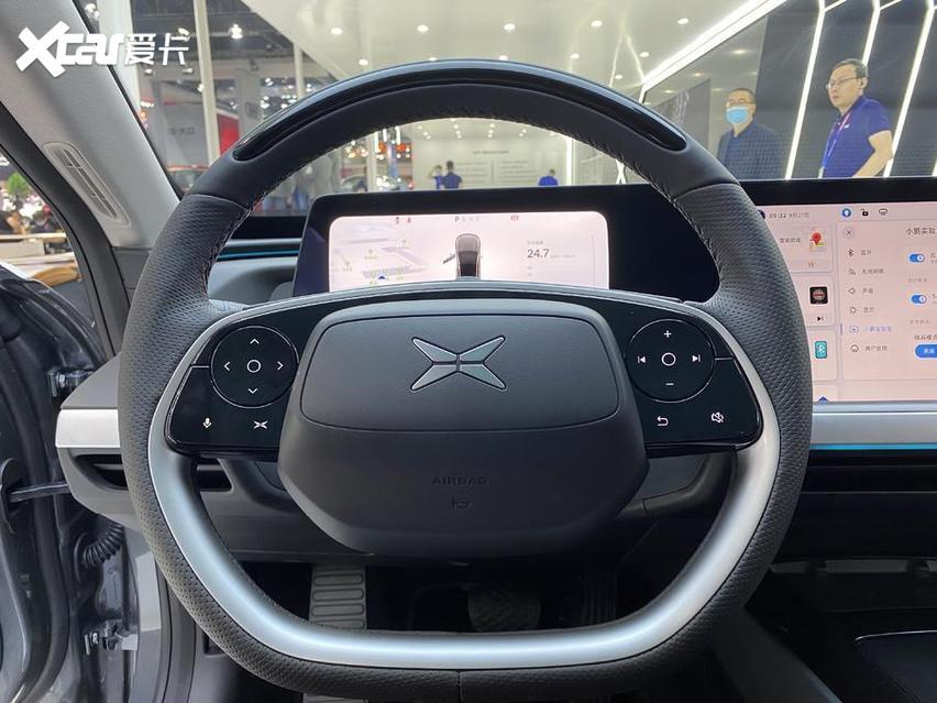 北京車展 實拍小鵬P7 新勢力很強悍 價格才20萬出頭-圖10