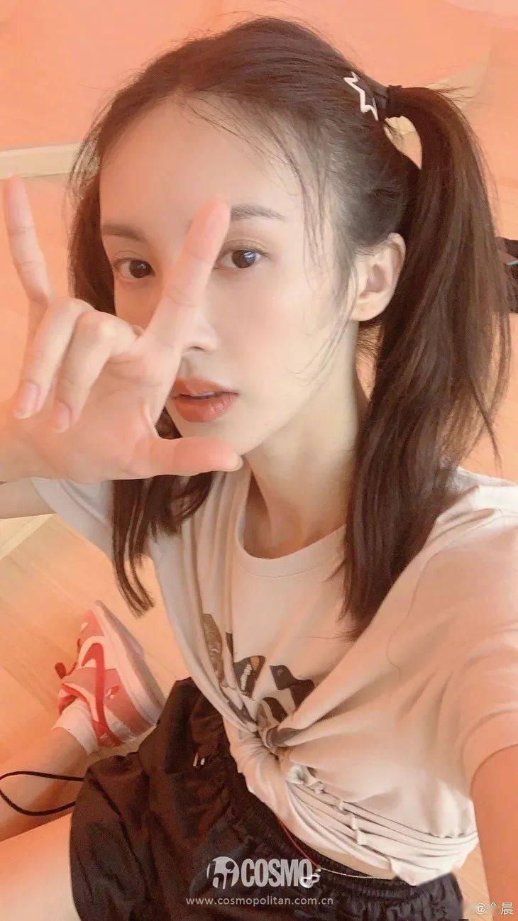把波點畫在臉上 @金晨 請改名金大膽!-圖4