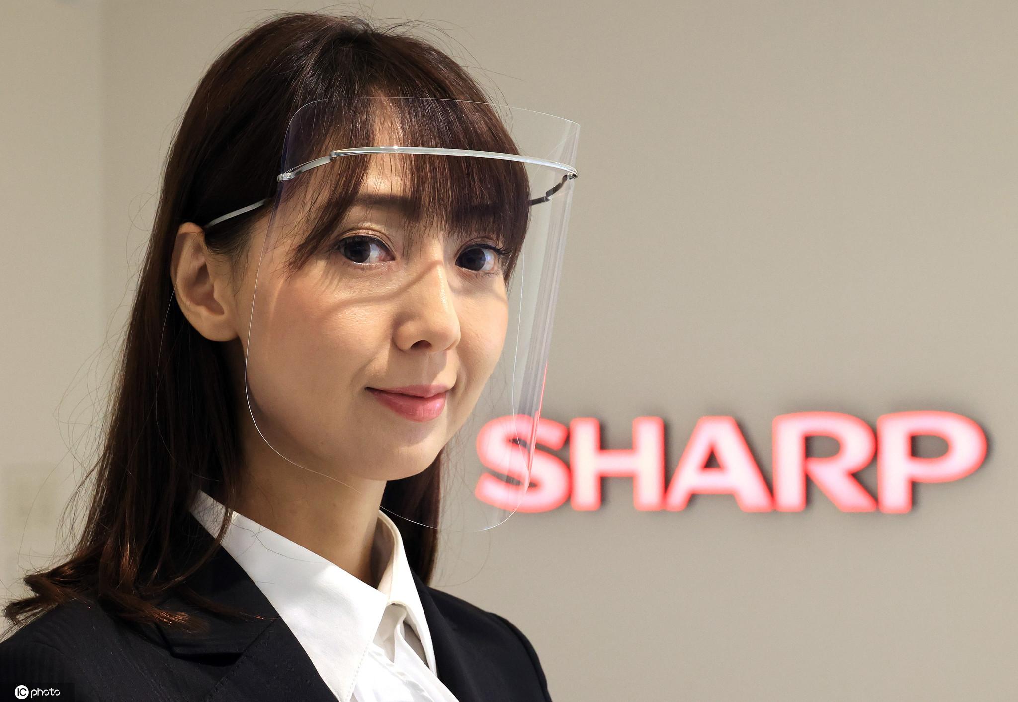 日本夏普公司研發出高性能面罩: 具有抗眩和防霧功能-圖2