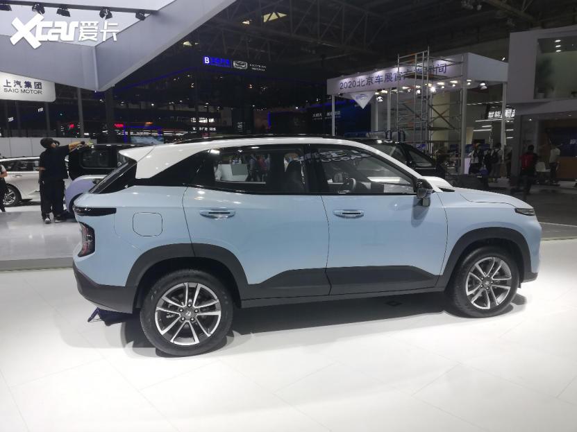 人見人愛的小型SUV, 新寶駿RS-3亮相北京車展-圖2