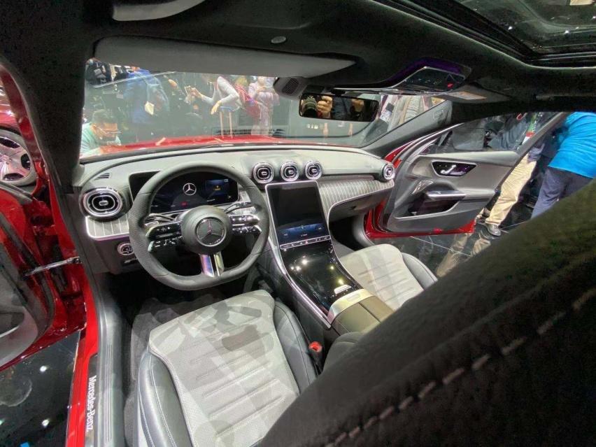 2021上海車展: 全新奔馳C級實車亮相/配得上小S的稱號-圖8