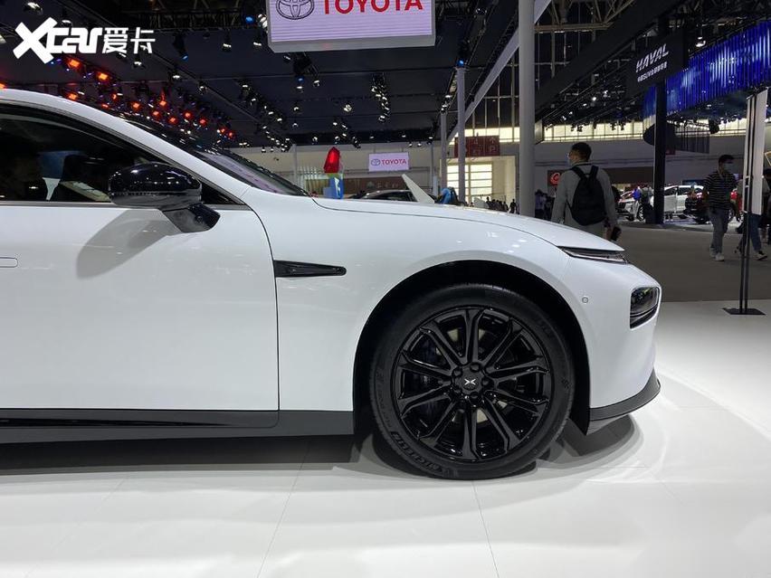 北京車展 實拍小鵬P7 新勢力很強悍 價格才20萬出頭-圖5