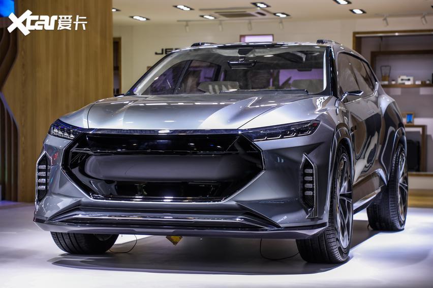 10萬內預算可以看看! 捷途X70 Plus車亮相北京車展-圖4
