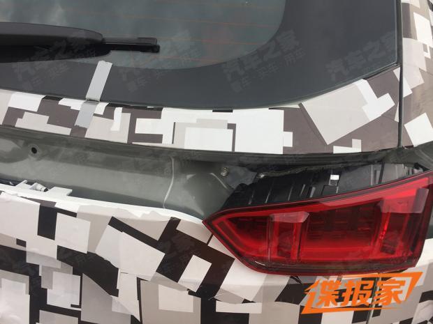 自帶巨大擾流板 哈弗全新SUV諜照曝光-圖4