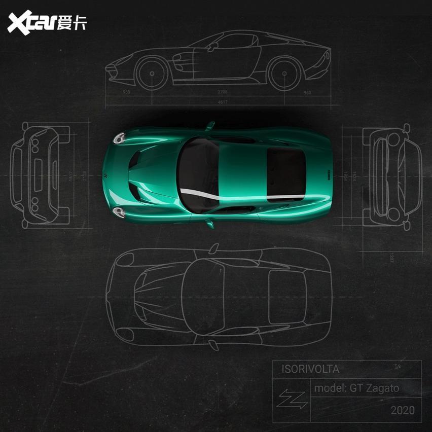 搭科爾維特引擎, 復興老車精神, Zagato推出GTZ新車-圖3