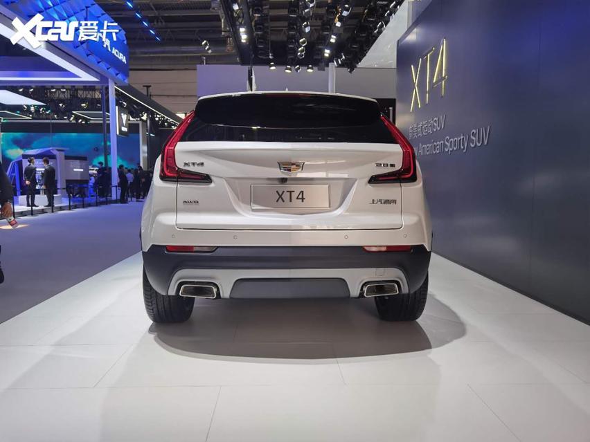 2020國際車展, 新款凱迪拉克XT4實拍, 運動SUV新寵兒。-圖4